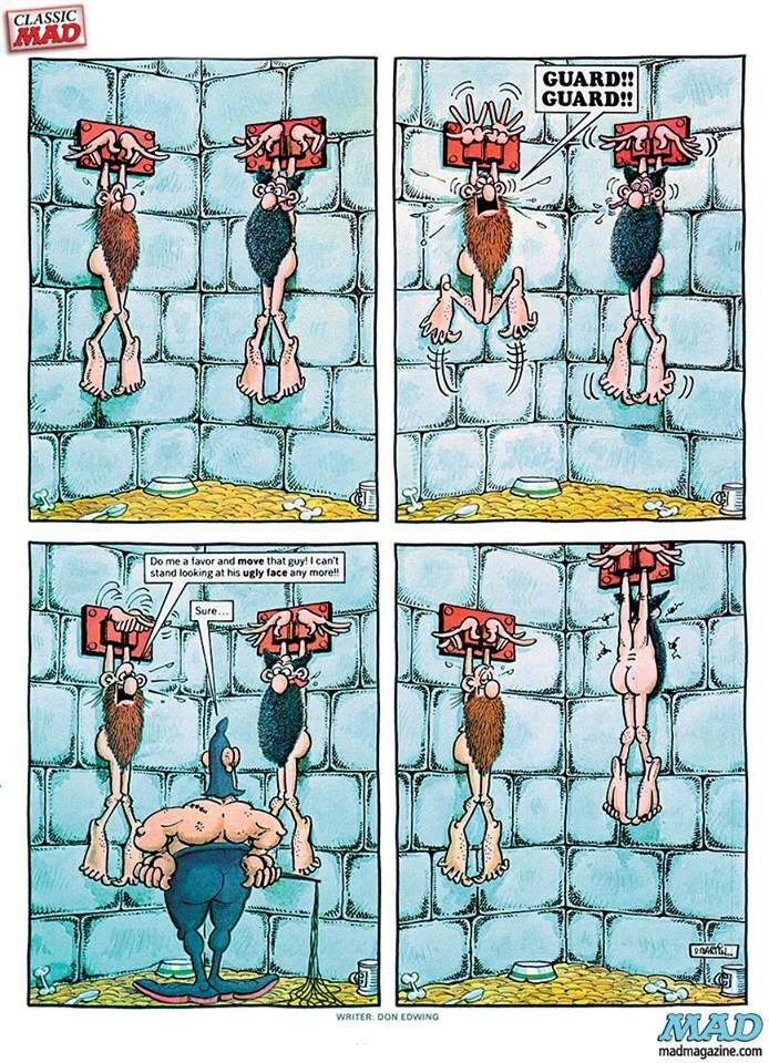 A bad view - Don Martin MAD