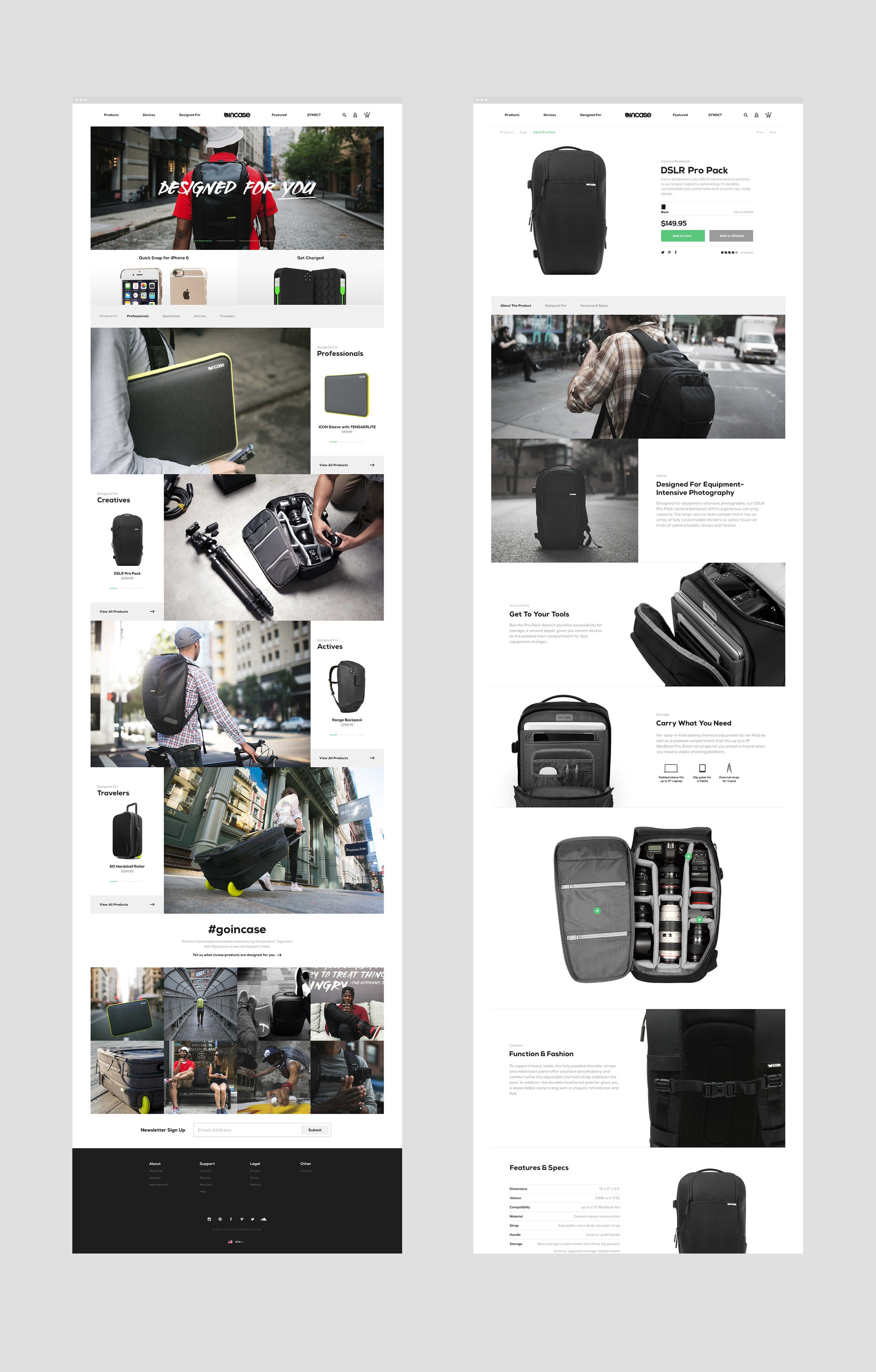 incase-brand-strategy-advertising by Basic agency