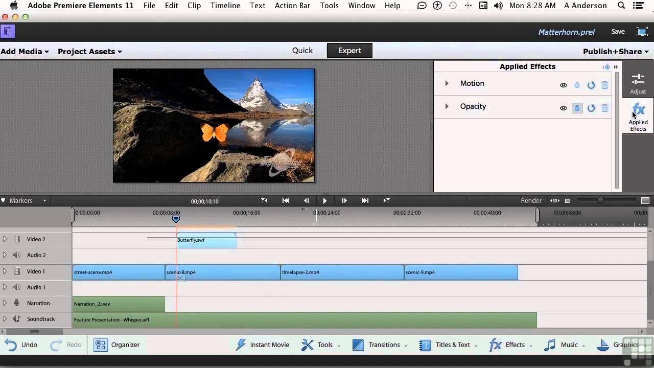 Adobe premiere elements 11 tutorial adding motion graphics adobe premiere elements 11 tutorial adding motion graphics baditri Choice Image
