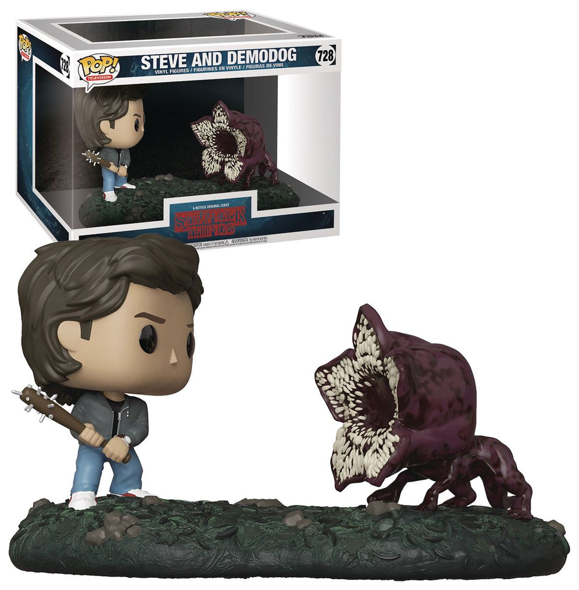 Funko Pop Television Moments Stranger Things 728 Steve And