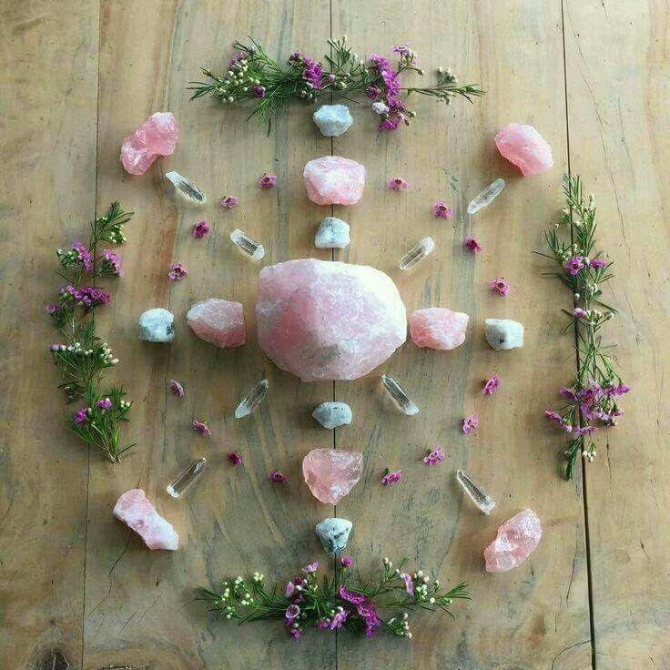 Mandala de rosa