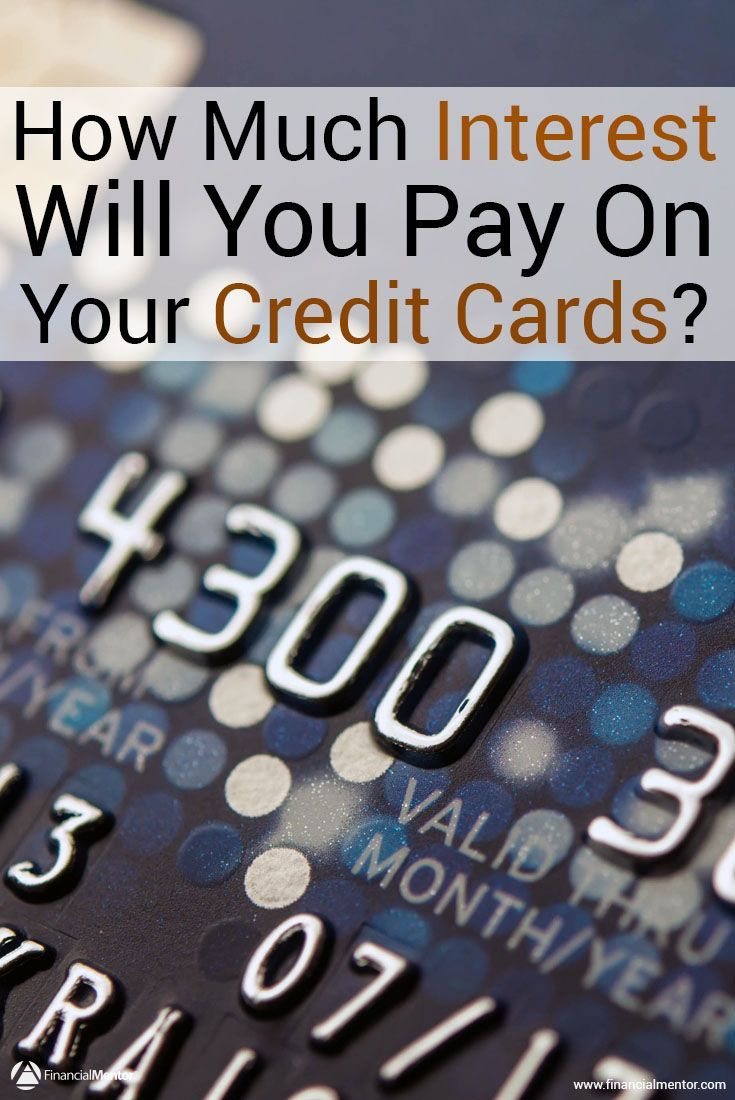 How Much Interest Will I Pay >> Credit Card Interest Calculator How Much Interest Will I