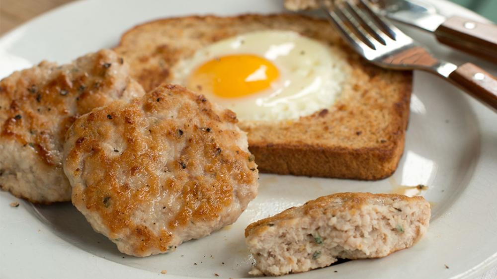 Fresh Turkey Breakfast Sausage with Sage Recipe