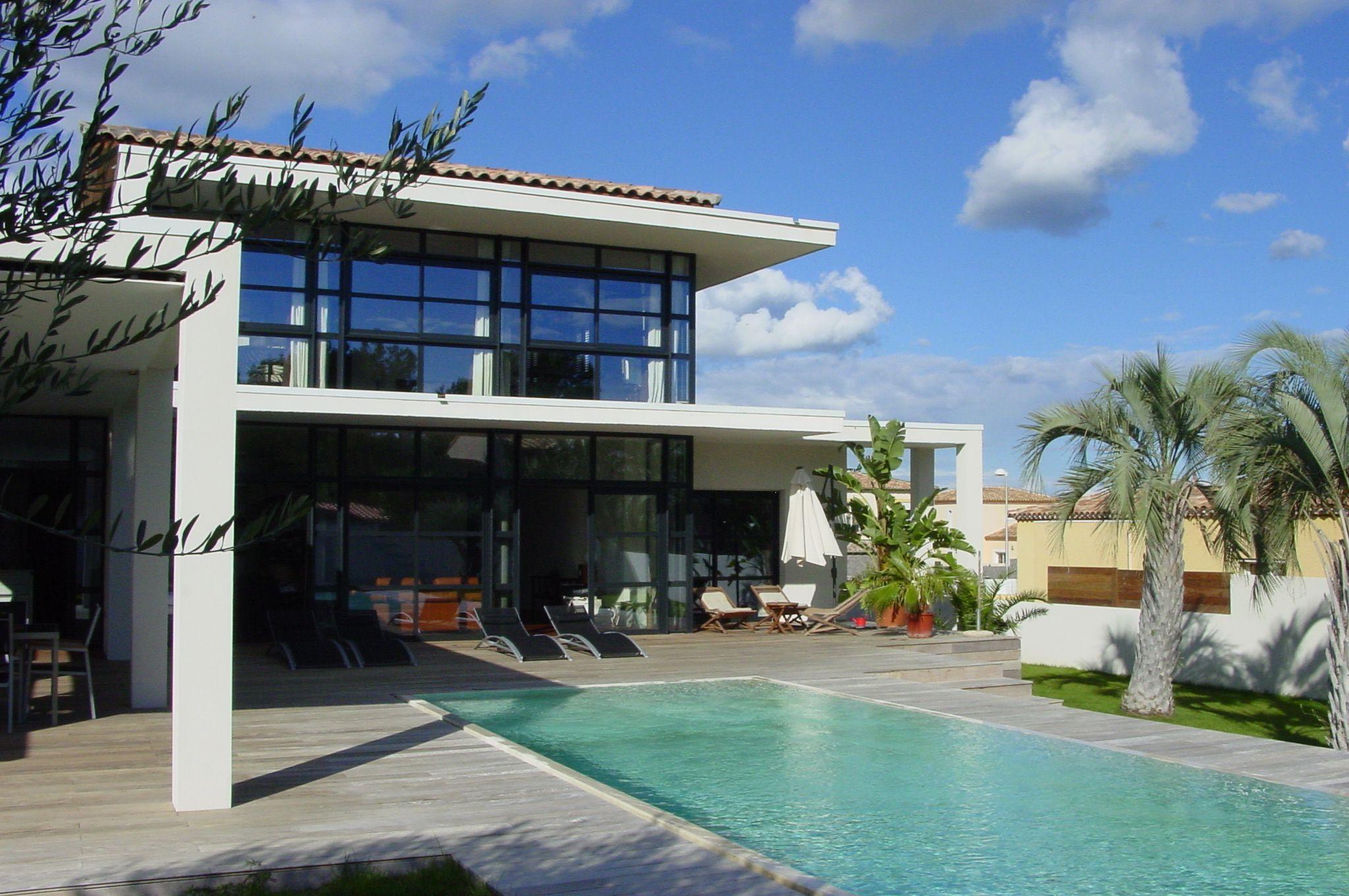 Stunning Plan D Une Maison De Luxe Moderne Contemporary ...