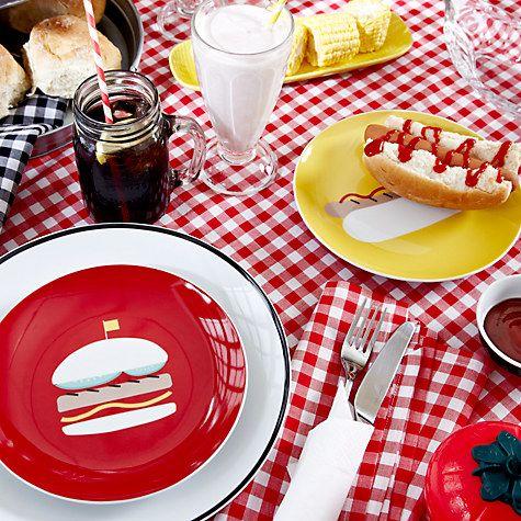 Buy John Lewis American Diner Tableware Online at johnlewis.com ...