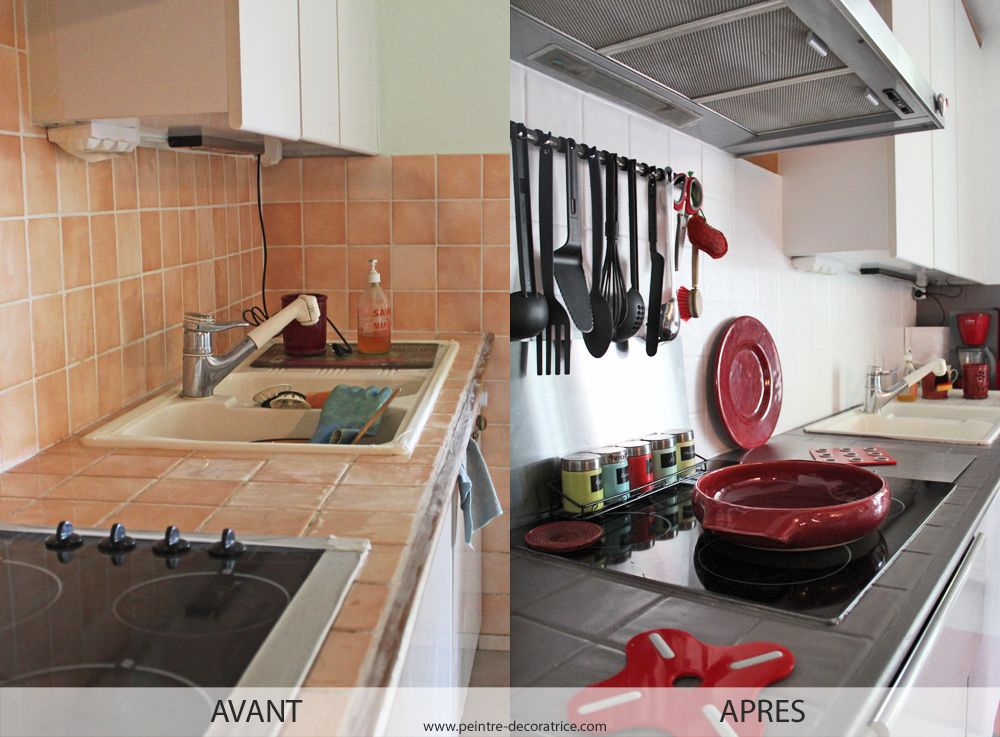 Comment repeindre le carrelage de la cuisine? Cuisine, Kitchens
