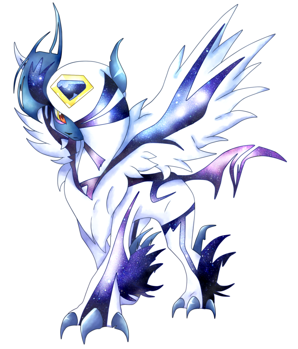 Corrupted mega absol by on - Absol evolution ...