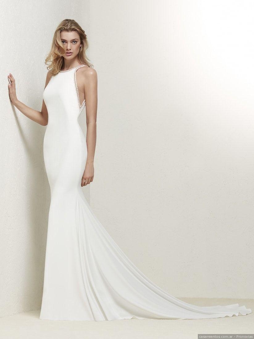 Vestidos de novia sencillos: 50 propuestas singulares | Brautkleider