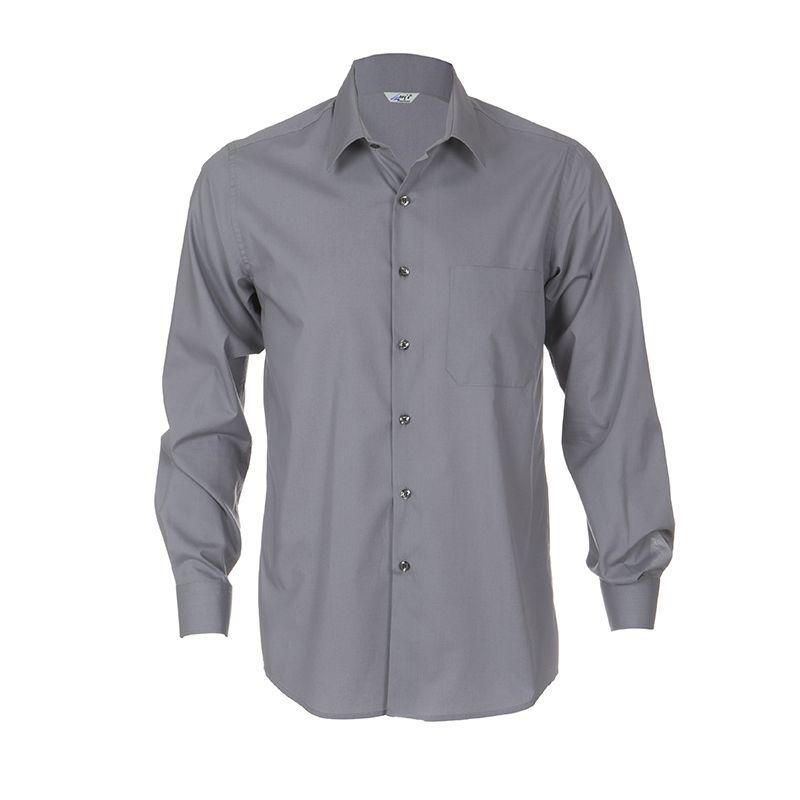 e1909ae774 2658 Camisa chico manga larga color gris perla  uniformes  hostelería   camarero  Garys