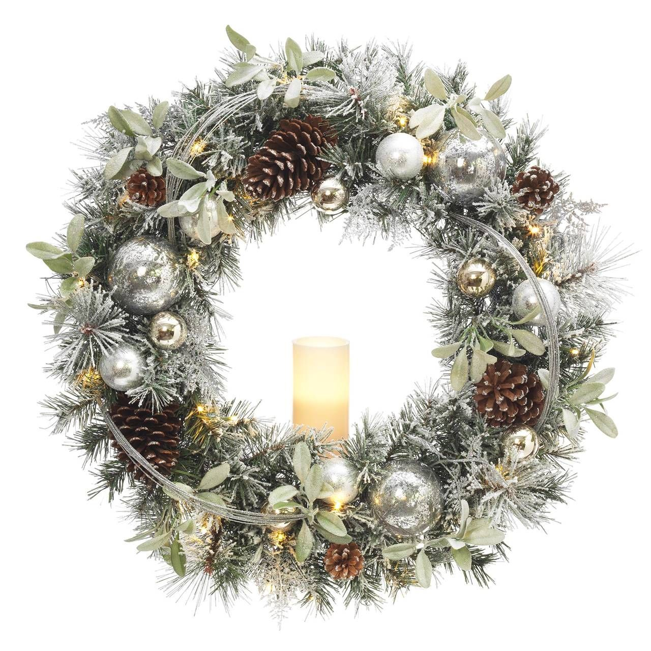 60 Festive Christmas Wreaths To Welcome The Holiday Season   Battery ...