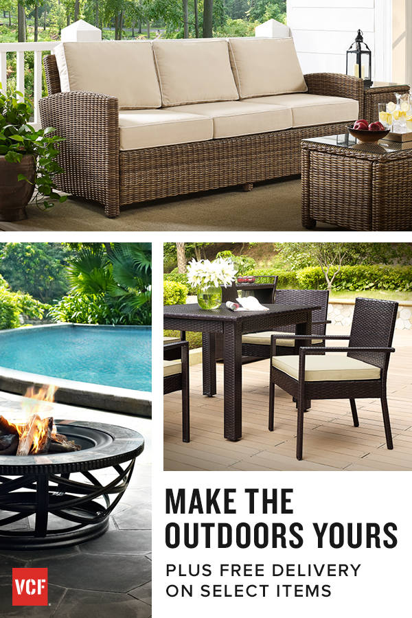 Make The Outdoors Yours With Our Multitude Of Patio Collections. Plus Free  Delivery On Select