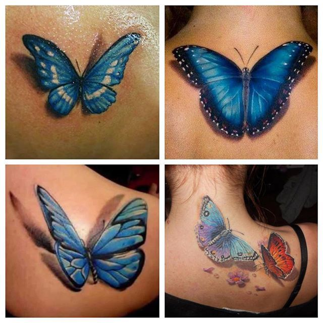113 Gorgeous Butterfly Tattoos That You Must See Tattoos Beautiful Butterfly Tattoo Blue Butterfly Tattoo Tattoos
