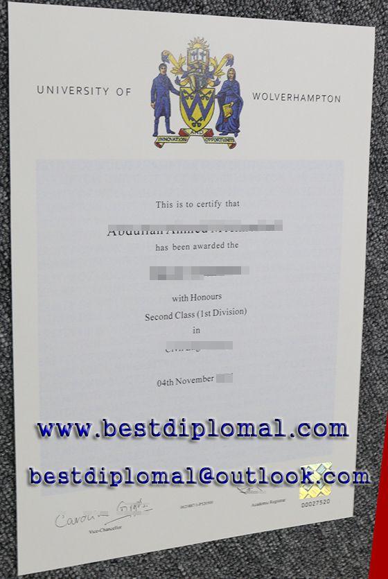 University Of Wolverhampton Fake Degree Http Www Bestdiploma1