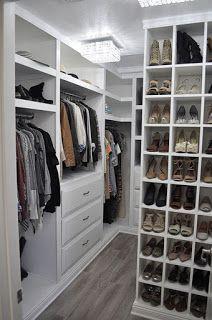 ARREDAMENTO E DINTORNI: cabine armadio ben organizzate | walk in ...