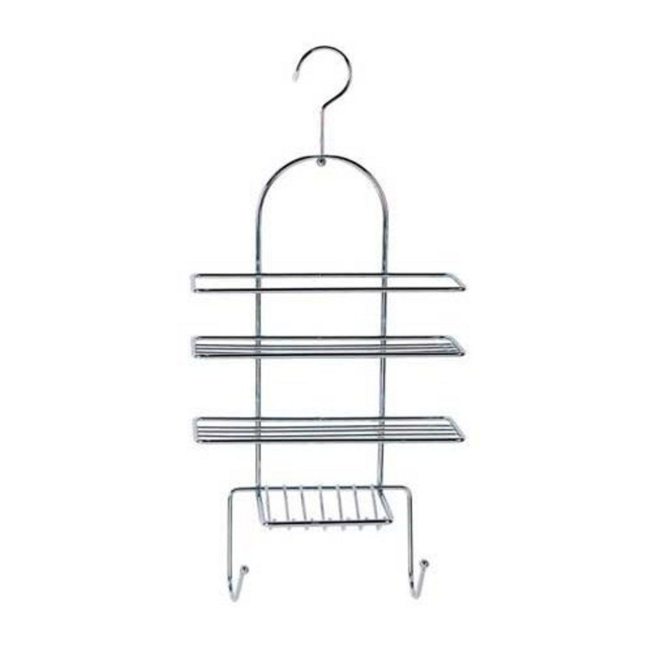 Sabichi Chrome Hanging Shower Caddy Bathroom Rack