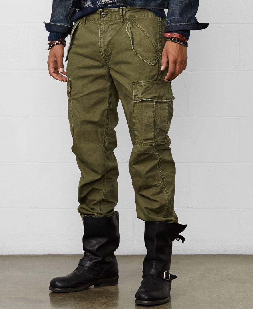 Denim & Supply Ralph Lauren Men's Field Cargo Pants - Pants - Men - Macy's