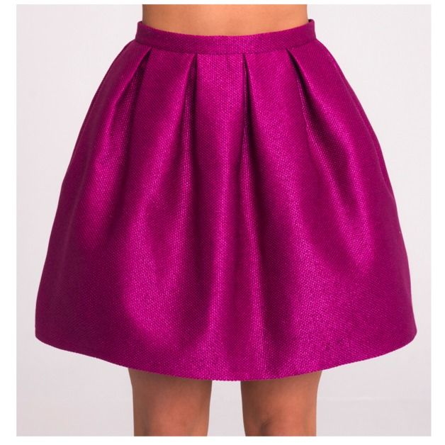 Skirts – Small skirt OPAL FUSCHIA - 17 colours !! – a unique product by Stoneskirts on DaWanda