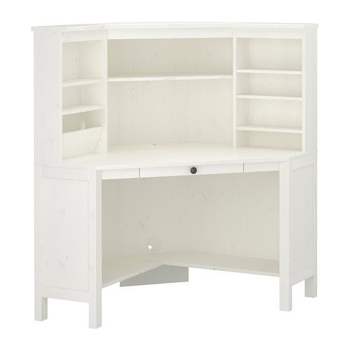 Wit Hoekbureau Ikea.Hemnes Hoekbureau Wit Ikea Home Craft Rooms Hoekbureau