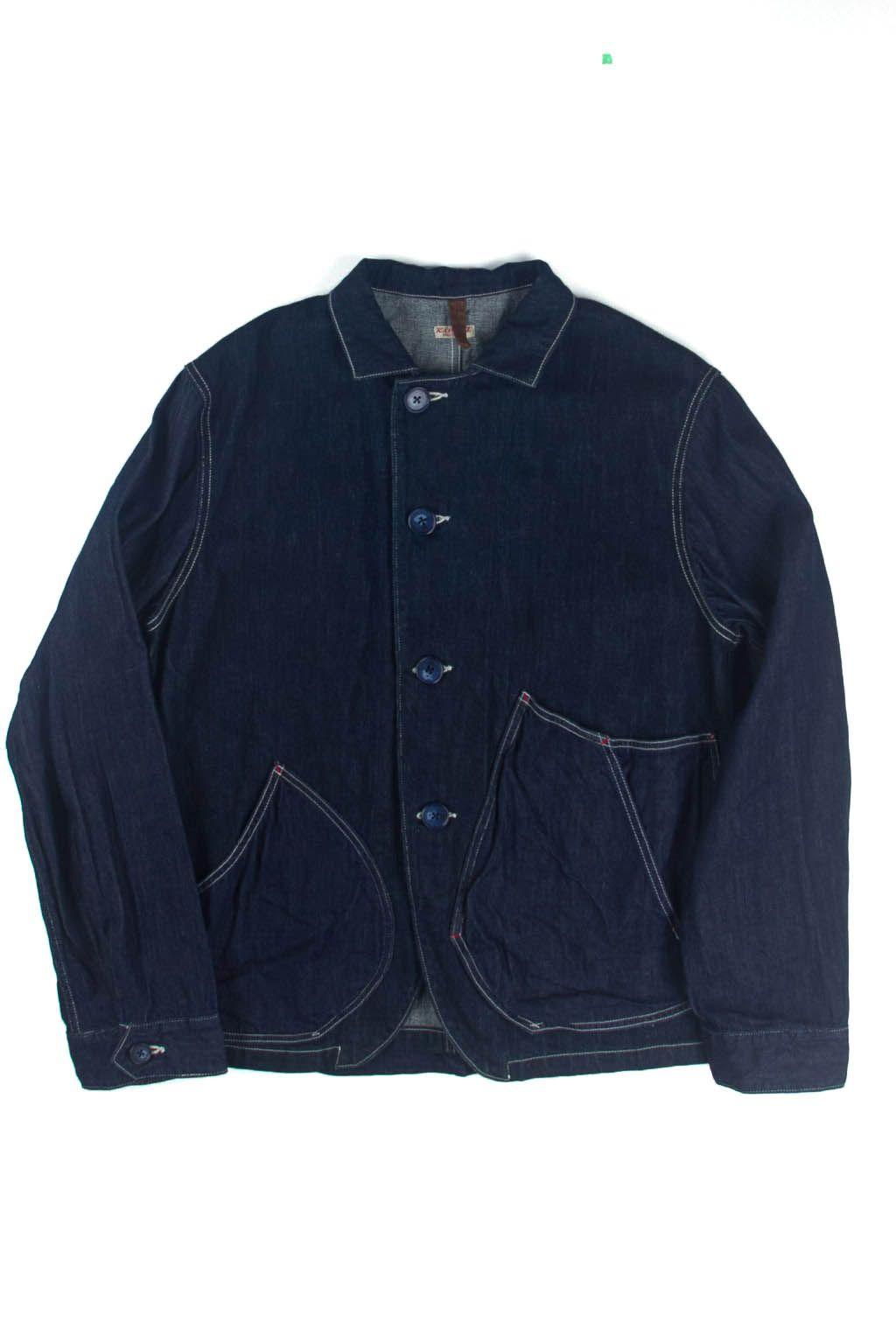 Blue Button Shop - 12oz Denim x 8oz Denim RINGOMAN Coverall - KAP16WJKTMDEN104862
