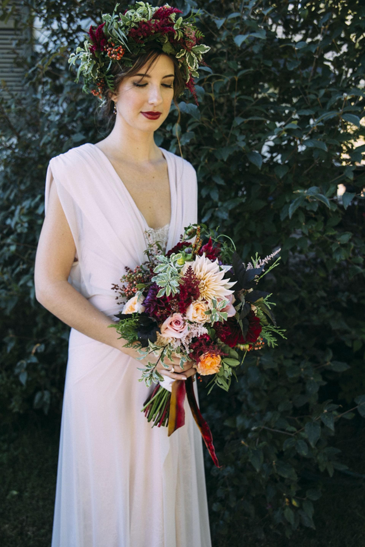 Romantic New Zealand Inspired Woodland Wedding | Asheville, NC