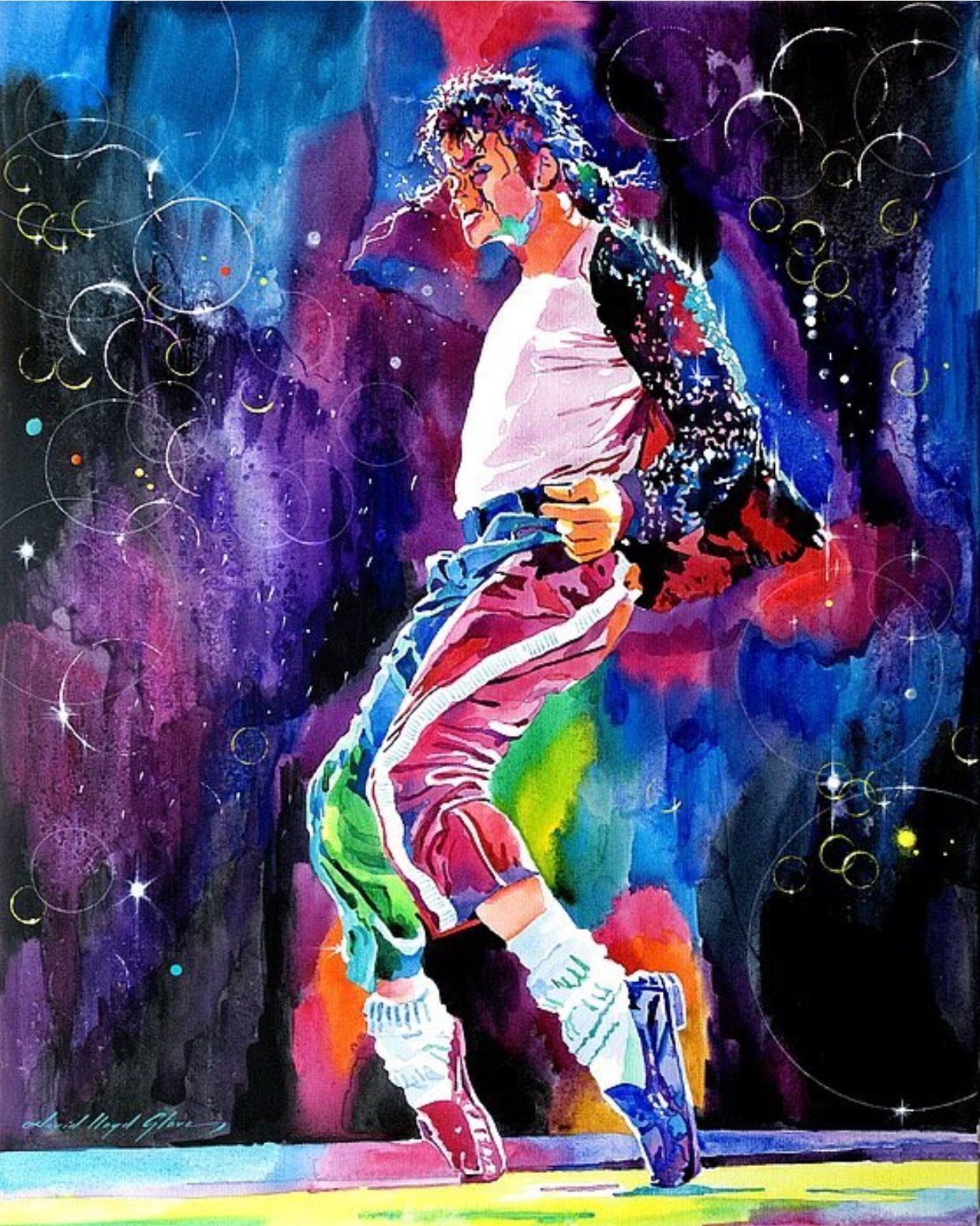 Michael Michael jackson dance, Michael jackson art