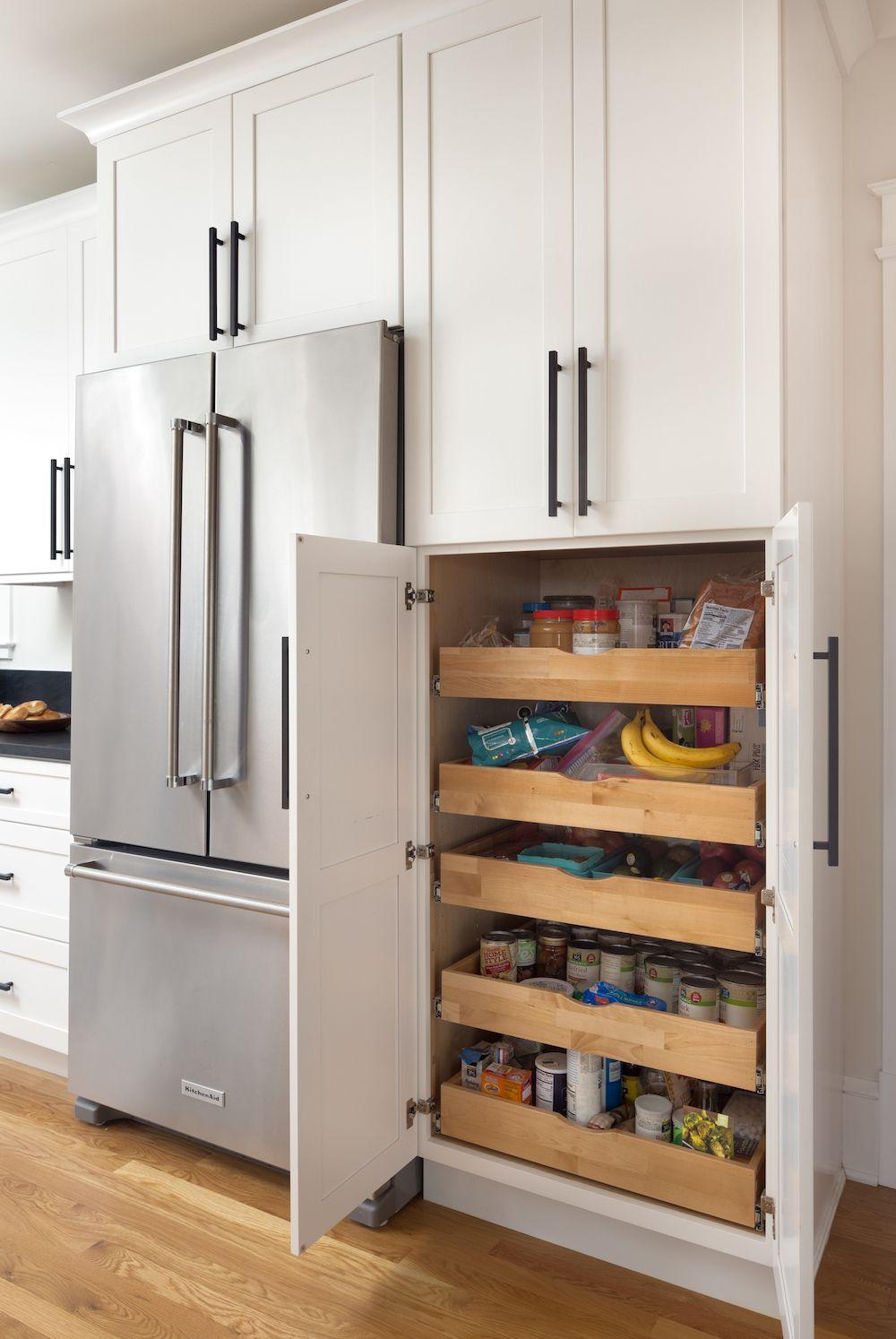 Kitchen Pantry Shaker Cabinets Arlington Va Pantry Design Kitchen Pantry Design Kitchen Remodel