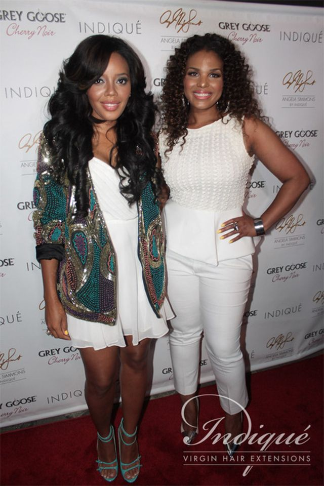 New Indique Virgin Hair Extensions By Angela Simmons Bikini