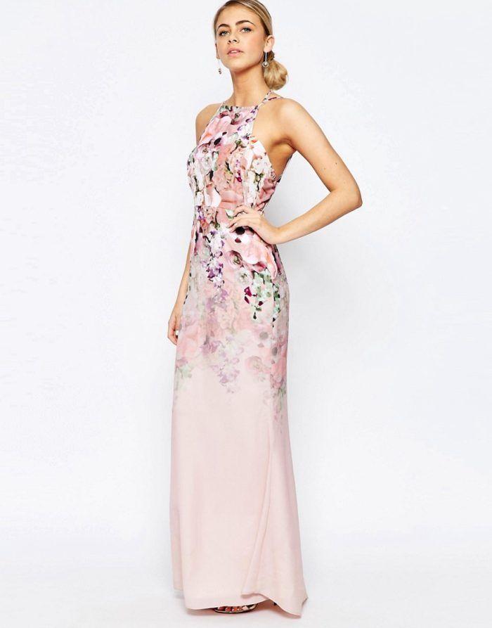 Maxi dresses for weddings floral maxi dress floral maxi for Floral wedding guest dresses