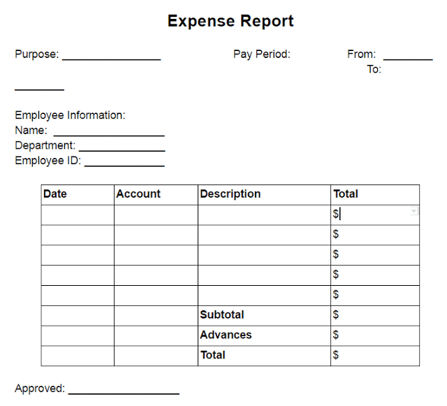 expense pre approval form expense approval template sample