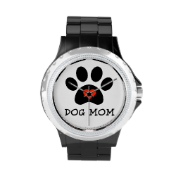 Pawprint Dog Mom Watches by #AugieDoggyStore
