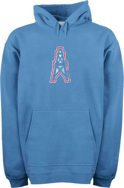 5740c9b9a Houston Oilers Classic NFL Throwback Logo Hooded Sweatshirt $55 ...
