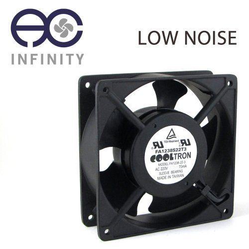 230v Ac Cooling Fan 120mm X 38mm Ls By Ac Infinity 1399
