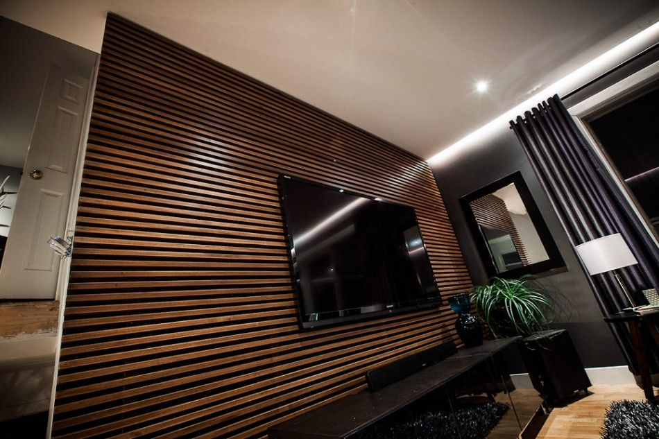 The Uncommon Law Diy Slat Wall Wood Surfaces Were Something We Wanted To Incorporate Into The