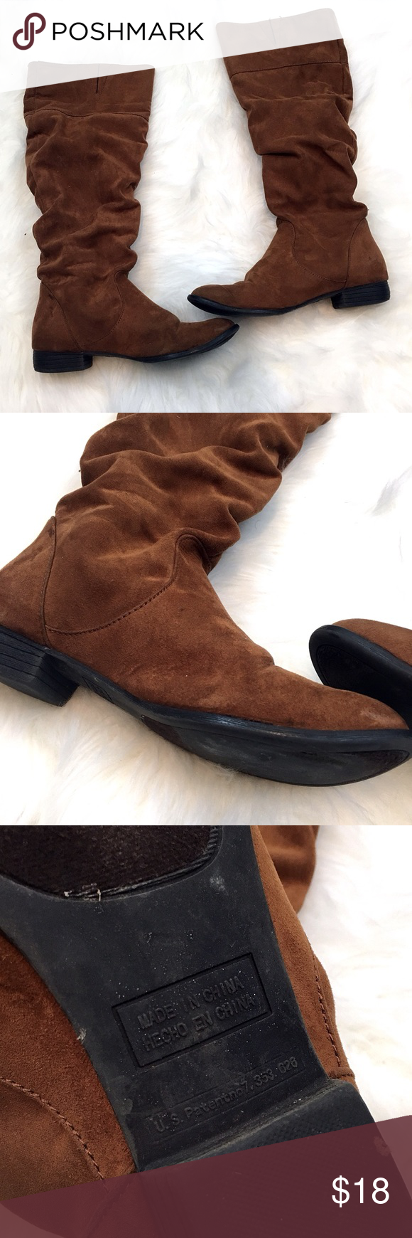 Forever 21 Brown Boots Size 7 - C7 Cute boots from F21 in orangish brown  color 8334e2b1aa