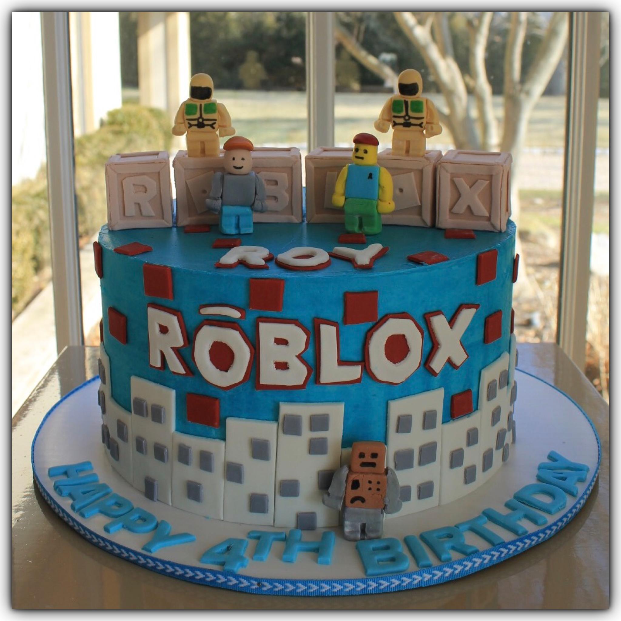 Roblox Cake Fiesta Cumpleanos Tortas De Cumpleanos Pastel Cumple