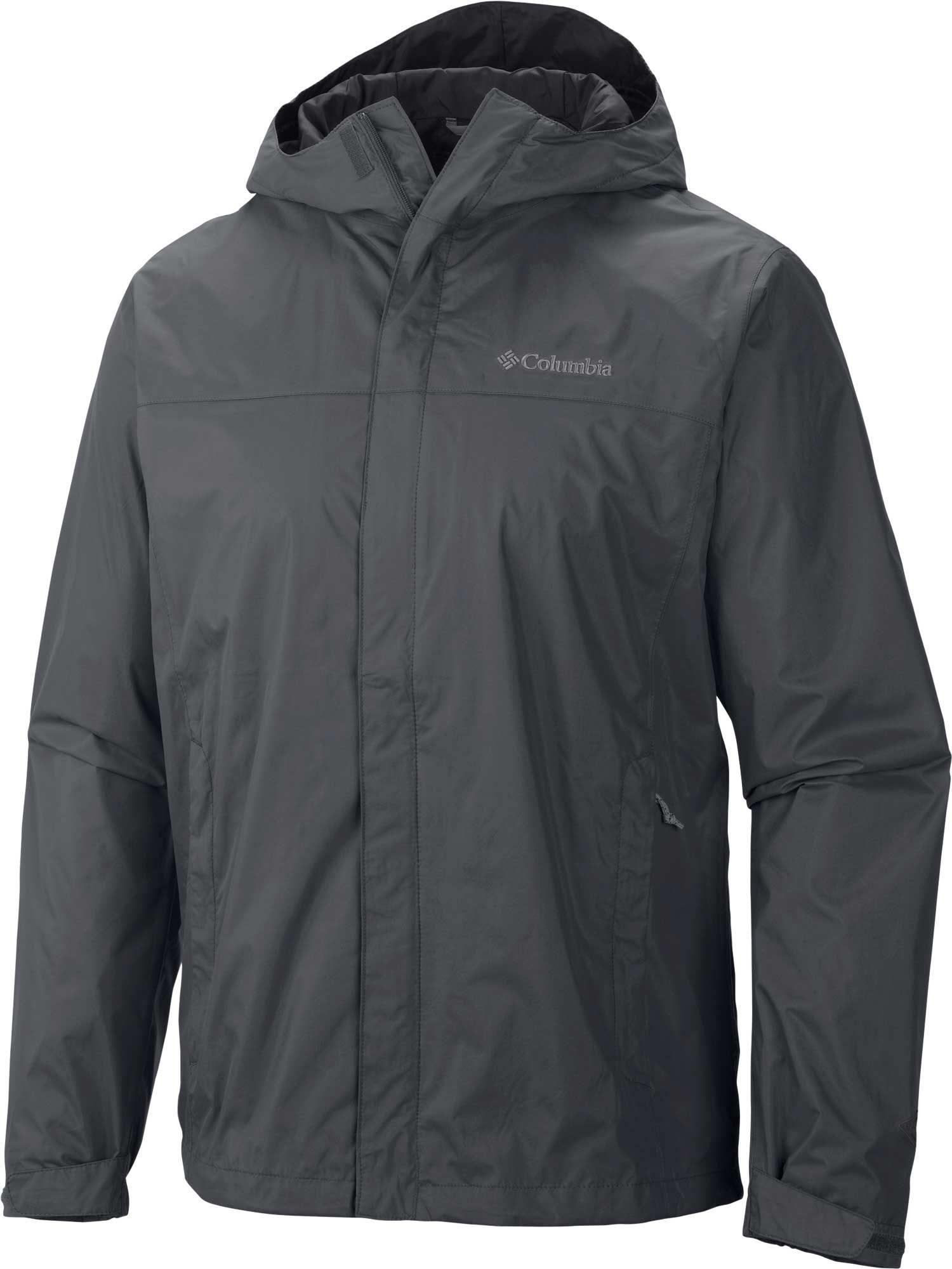 "New Mens Columbia /""Watertight II/"" Omni-Tech Packable Rain Wind Jacket"