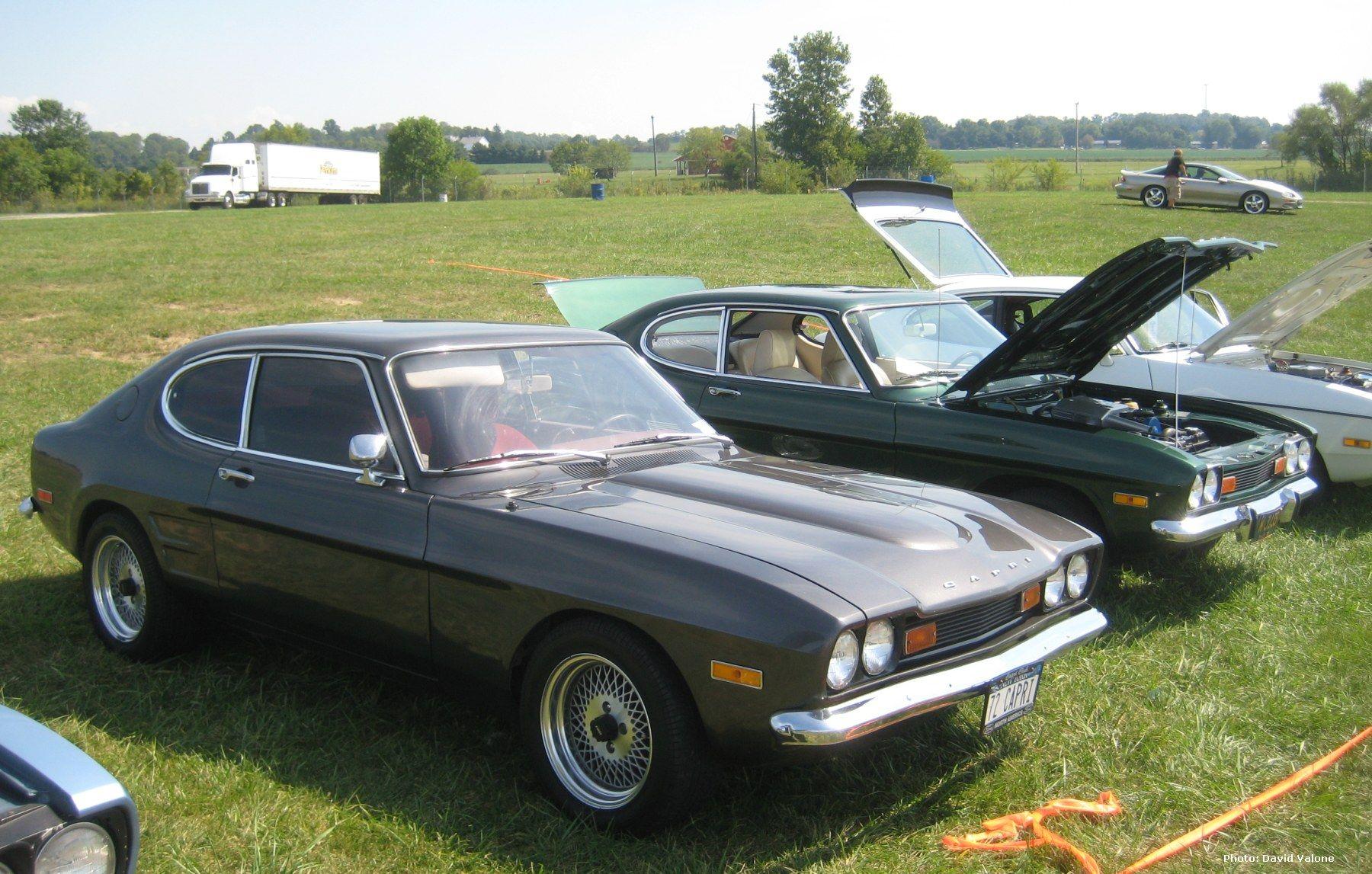 1972 mercury capri green