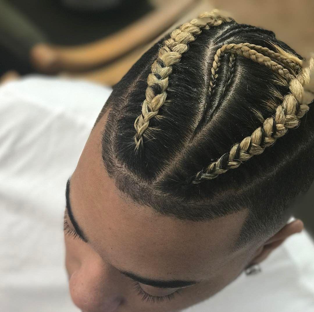 Men Long Hairstyles Braid: 24 Popular Man Braids Hairstyles 2019