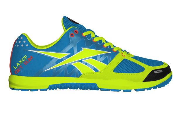 YourReebok - Reebok nano 2.0  Even though I'm a Nike fan to death Reebok really stepped up their game by allowing CrossFit athletes the ability to customize their own pair of shoes to really stand out from other athletes. Can't wait to get this pair in the mail.