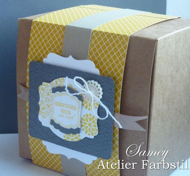 Verpackungen und Mehr zu jedem Anlass! ich freue mich ueber deinen Besuch auf meinem blog www.samey-atelierfarbstil.blogspot.com
