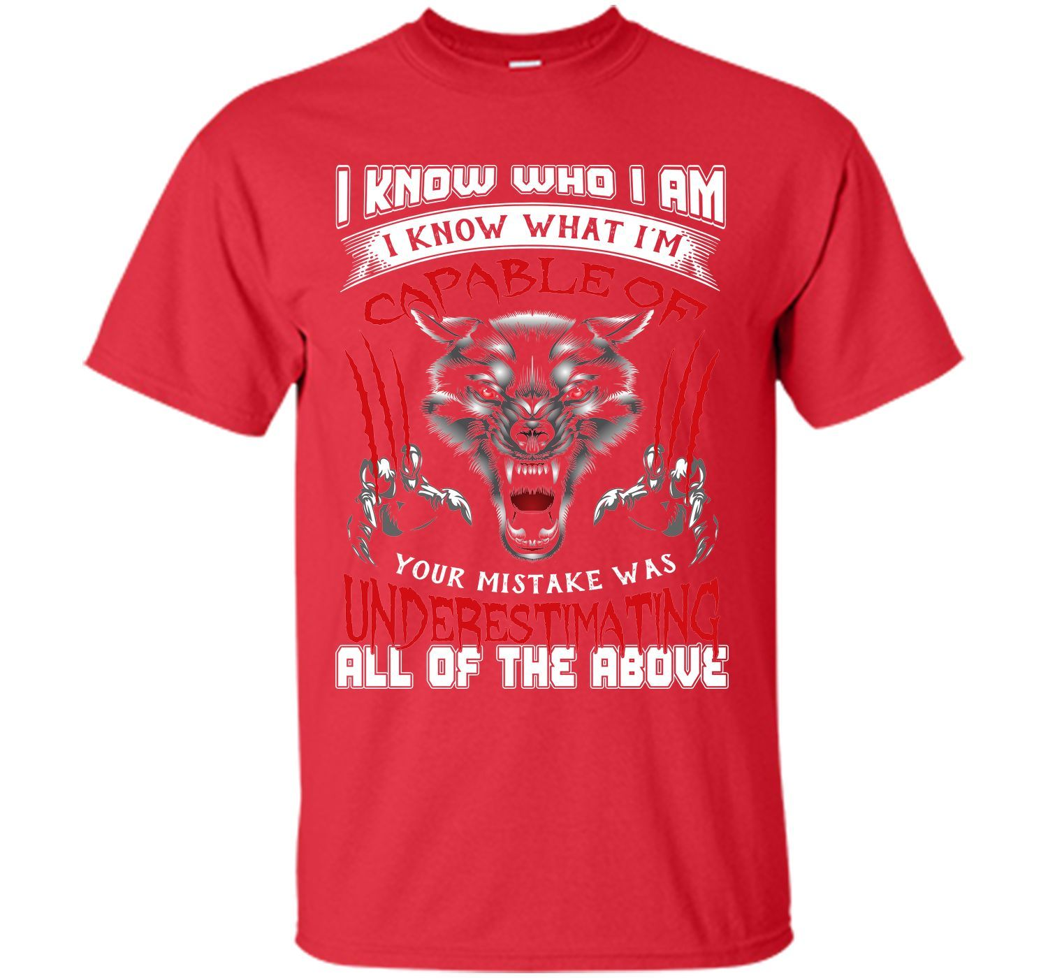 I Know who I Am I Know What I'm Capable T-Shirt