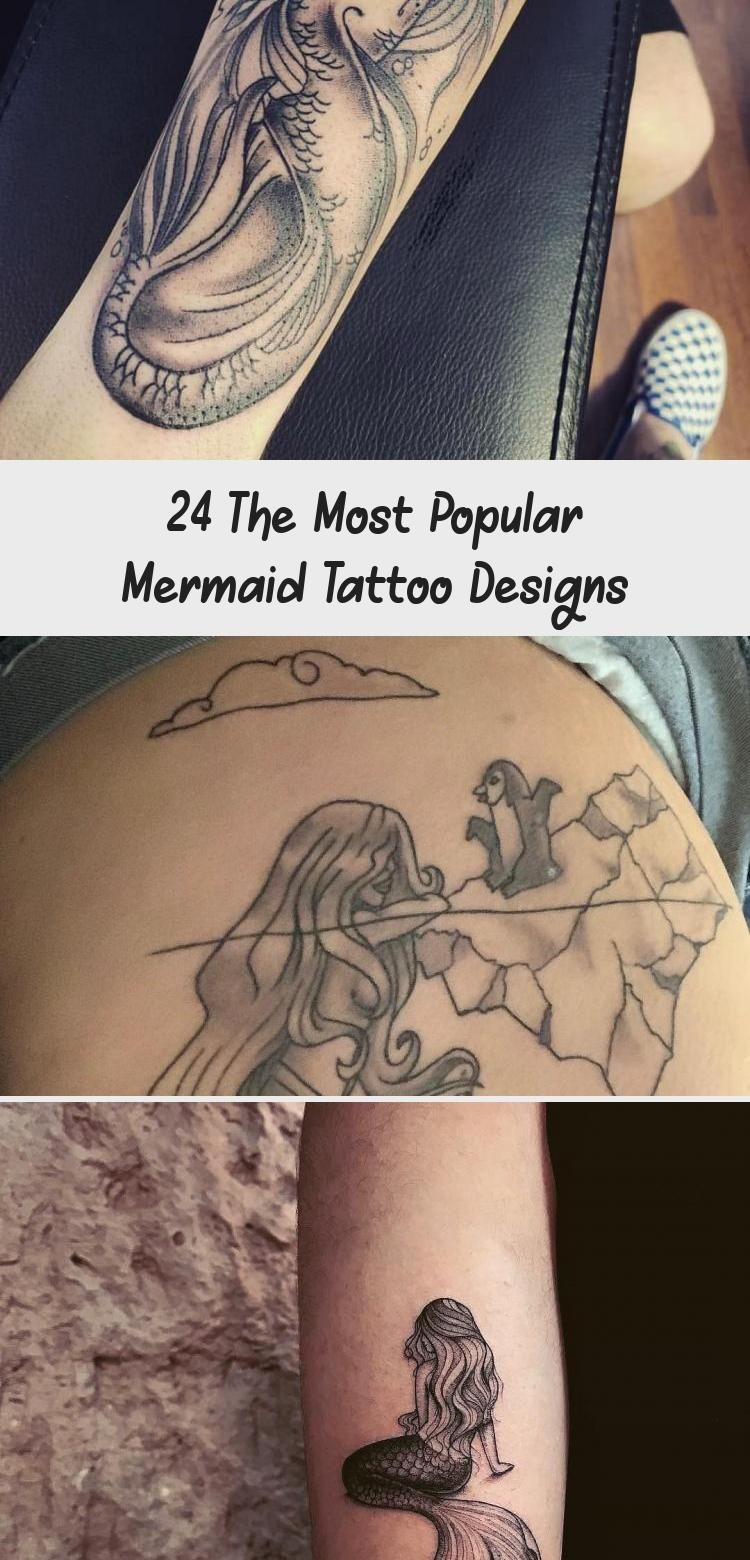 Photo of 24 The Most Popular Mermaid Tattoo Designs – Tattoos and Body Art