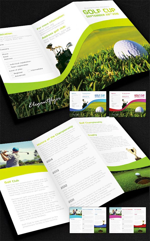 15 Free Brochure Templates For Designers To Have Trifold
