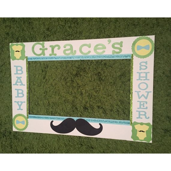 Little Man Photo Booth Frame - Little Mister Photo Frame and Props ...