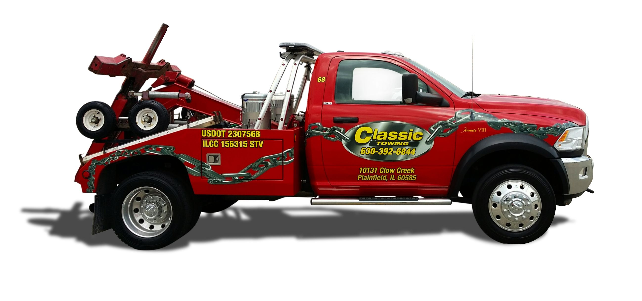 Are you in need of light, medium, or heavy duty roadside