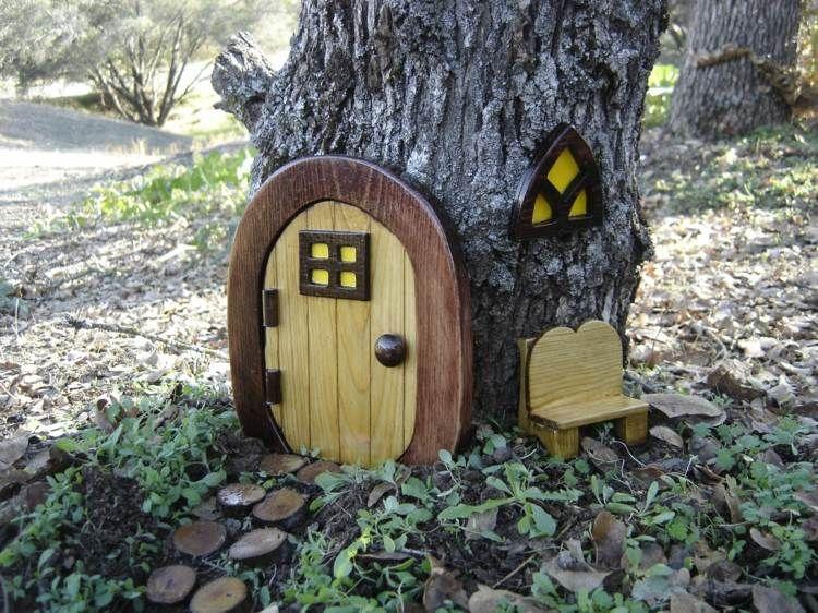 D coration pour jardin faire soi m me porte de gnome - Doigt coince dans une porte que faire ...