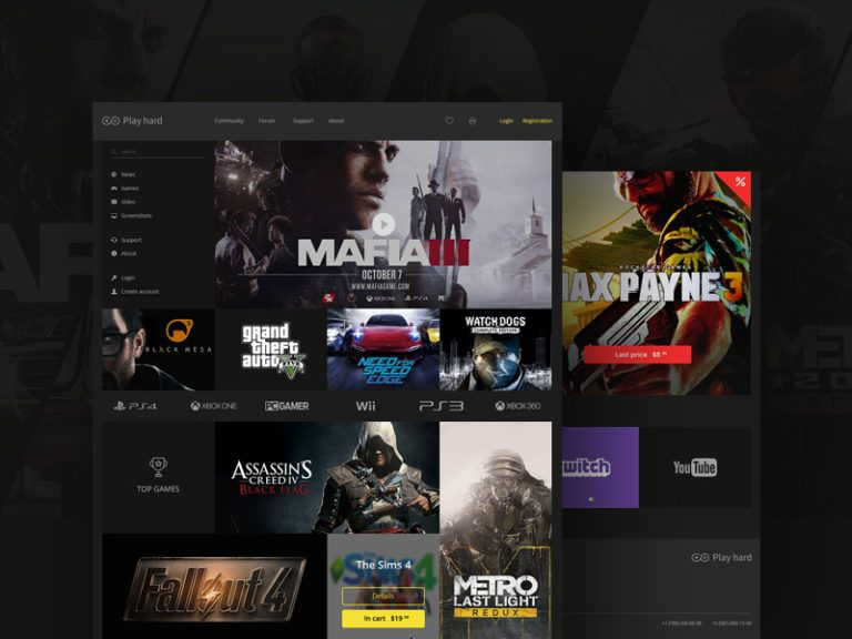 Gaming Ecommerce Website Template Free Ecommerce Website Template Free Website Templates Website Template