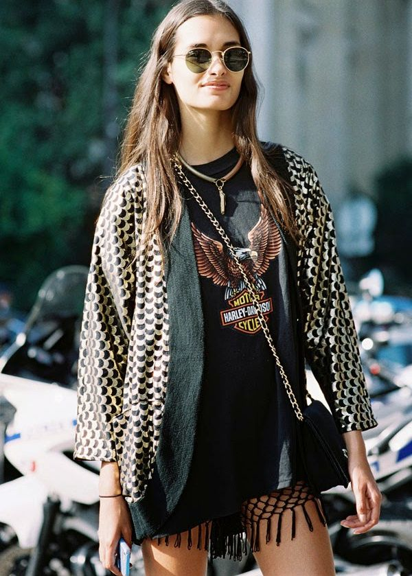 Camiseta Rock Style   Style   Pinterest   Mode, Mode outfits and Stil 105f2e047c