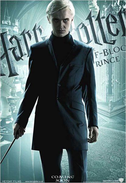 Harry Potter Und Der Halbblutprinz Kinoposter David Yates J K Rowling Tom Felton Harr Draco Harry Potter Draco Malfoy Harry Potter Und Der Halbblutprinz