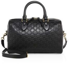 0a8c621d8 Gucci Medium Soft Signature Leather Boston Bag | Products | Gucci ...